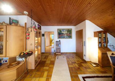 Wohn- & Essbereich mit Blick auf Flur II